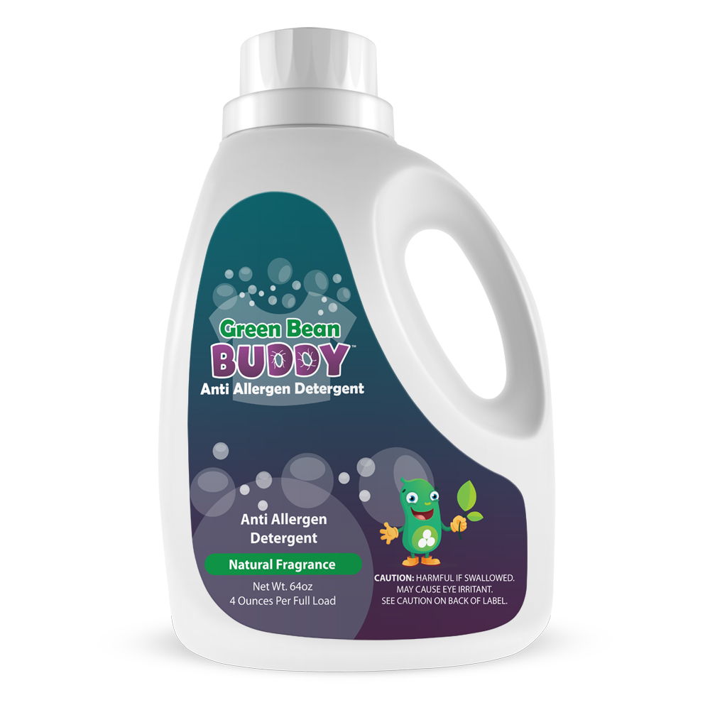 green bean buddy anti allergen detergent 64oz. Black Bedroom Furniture Sets. Home Design Ideas