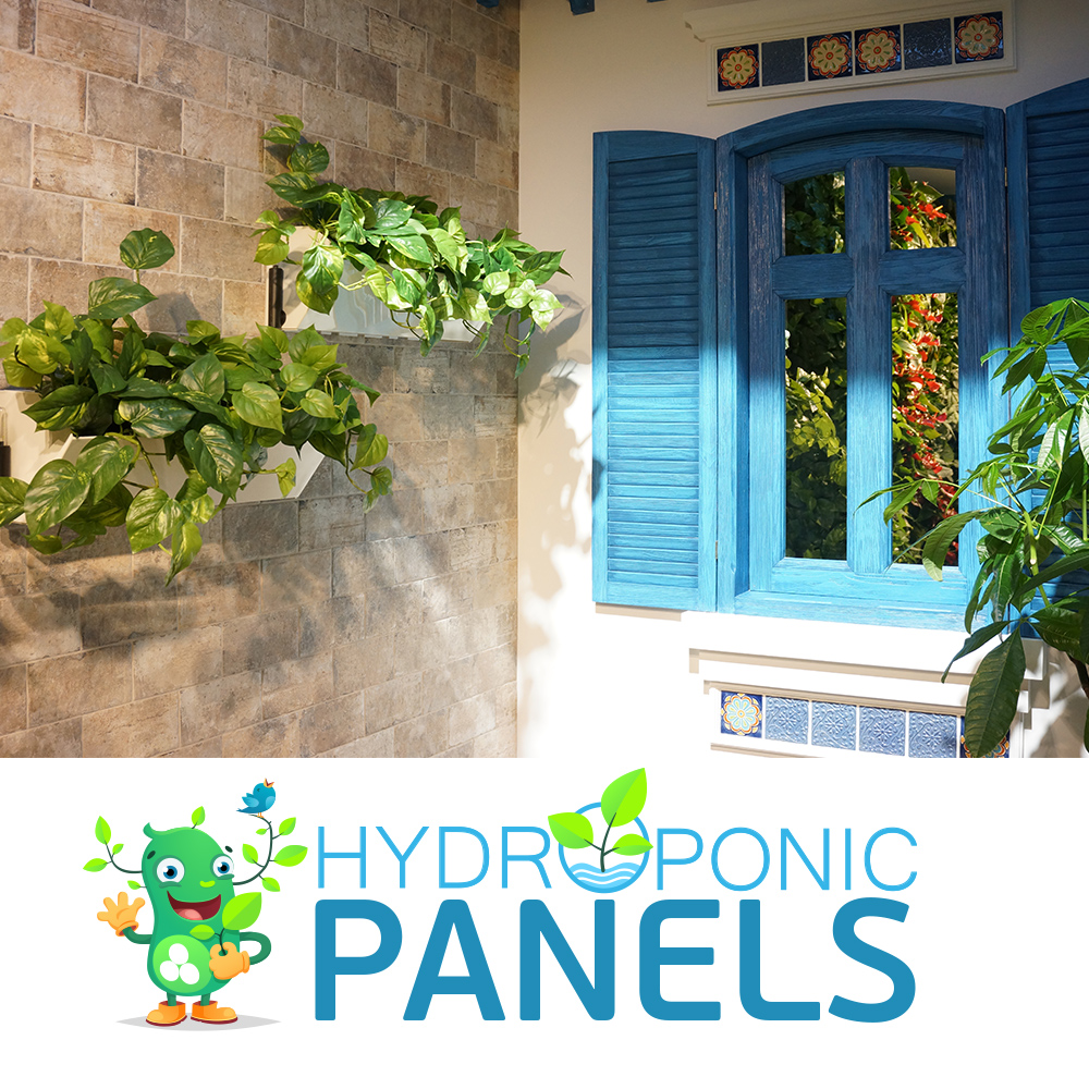 Hydroponic Panel Wall Garden