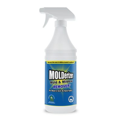 Non-Toxic, No Bleach, Stain Remover Mold and Mildew Killer, Molderizer