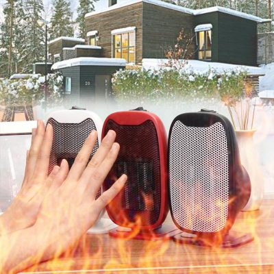 Adjustable Temperate Mini Portable Remote Heater With Timer, US Plug 220v