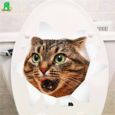 3D Waterproof Vinyl Decal Cat Stickers