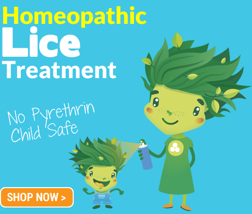 homeopathic lice spray