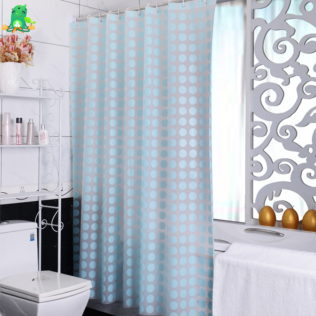 Mold and Mildew Resistant Chlorine Free PEVA Shower Curtain