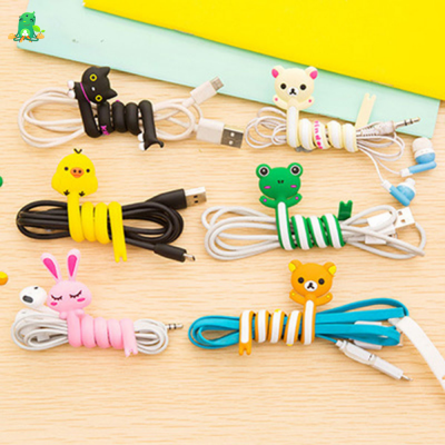 Cute Cable Winder & Holder, 1 Item Randomly Chosen